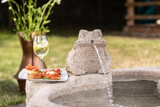 Hotel Solaia – Garten und Schwimmbad