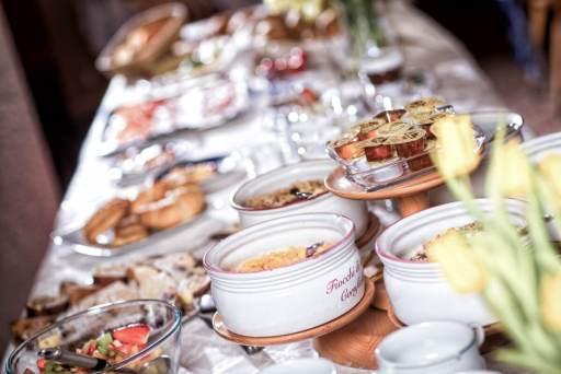 Frühstücksbuffet im Hotel Solaia