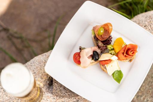 Küche – kleine Appetit-Häppchen