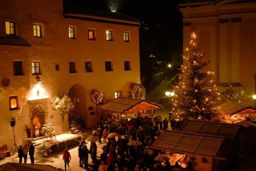 Weihnachtsmarkt in Kastelruth – Glühwein Hotel Solaia