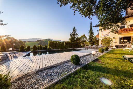 Hotel Solaia -  Schwimmbad im Garten