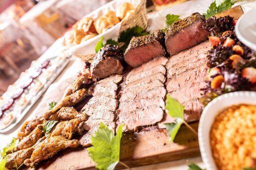 Küche - Fleisch Buffet
