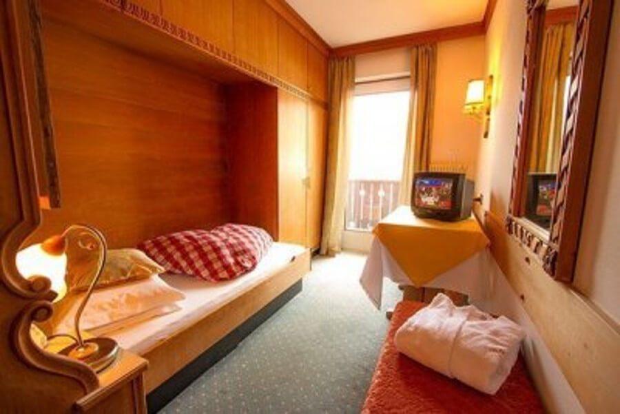 Hotel Solaia – Einzelzimmer Wolkenstein