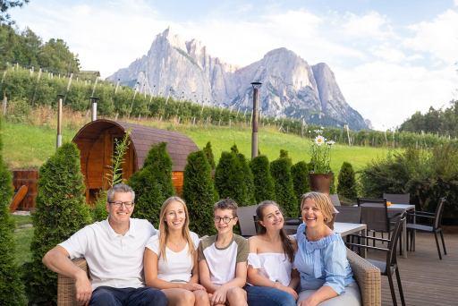 Hotel Solaia – Familie Senoner mit Kinder