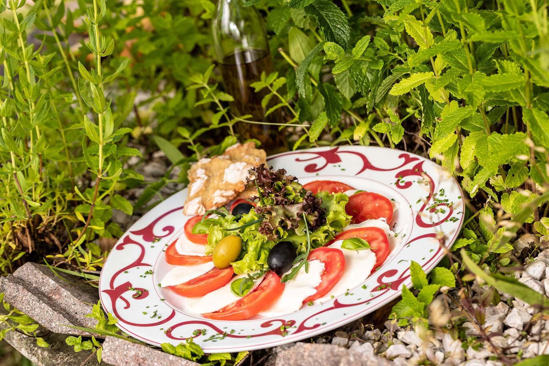 Kulinarische Gerichte mit südtiroler Tradition und italienischen Gerichten