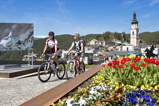 Radelfahren in Kastelruth und Umgebung