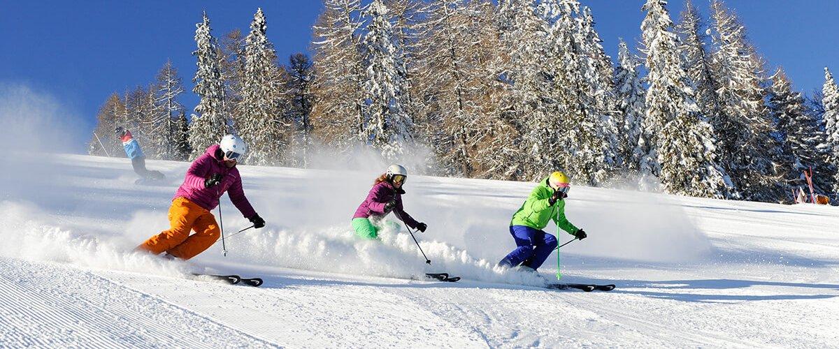 Sunny skiing weeks