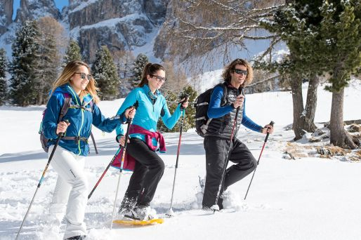 Schneeschuhwandern – Kastelruth, Seiseralm, Süditirol
