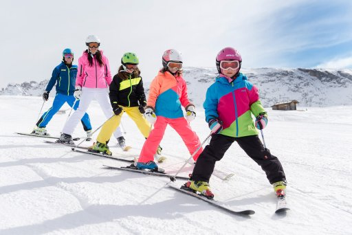Skifahren auf der Seiseralm für Familien